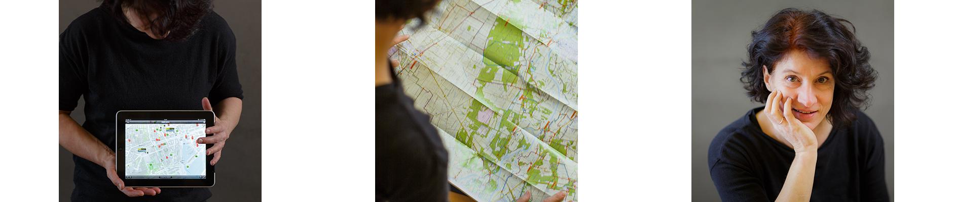 3x landkaartje winifred
